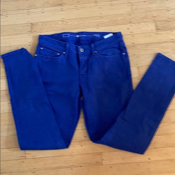 Levi's modern rise skinny Demi curve jeans size 30